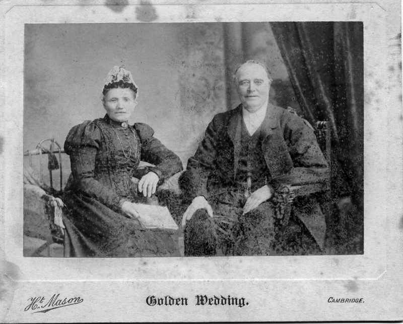 John and Mary Wilson on their Golden Wedding 1901